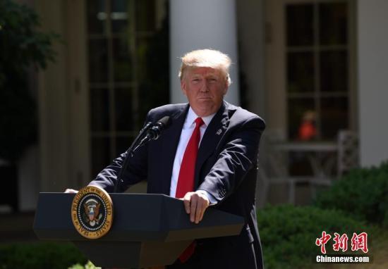 """特朗普自评""""A+总统"""" 预告内阁团队要换人"""