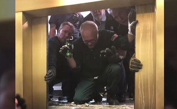 梦魇!美高楼电梯突然坠落84层6人被困