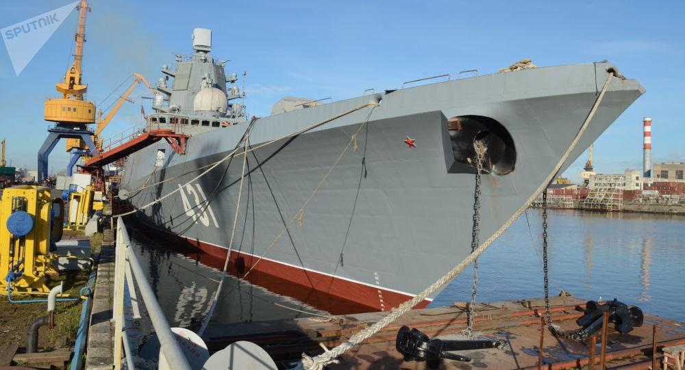 俄最新隐身战舰内部超乎想象的好 连桑拿房都有