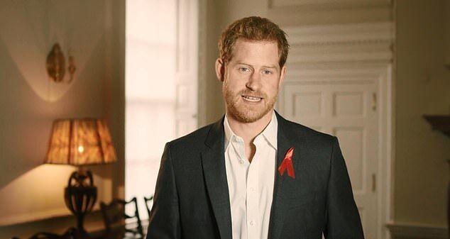 哈里王子呼吁民众进行HIV检测:不必感到羞耻