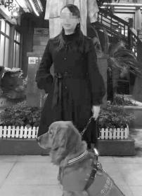 女子携导盲犬进小吃店吃饭被拒 警察来了才让进店