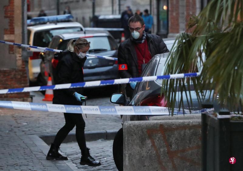 布鲁塞尔发生持刀伤人案 一警员受伤