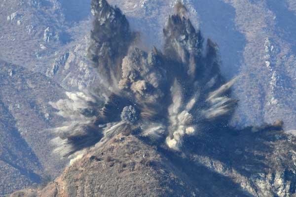 全部炸毁!朝鲜完成非军事区10所哨所的拆除工作