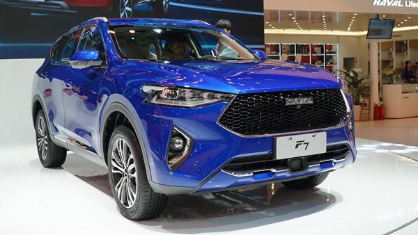 哈弗F7领衔 4款广州车展热门中国品牌SUV车型盘点