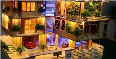 手工制作房屋模型