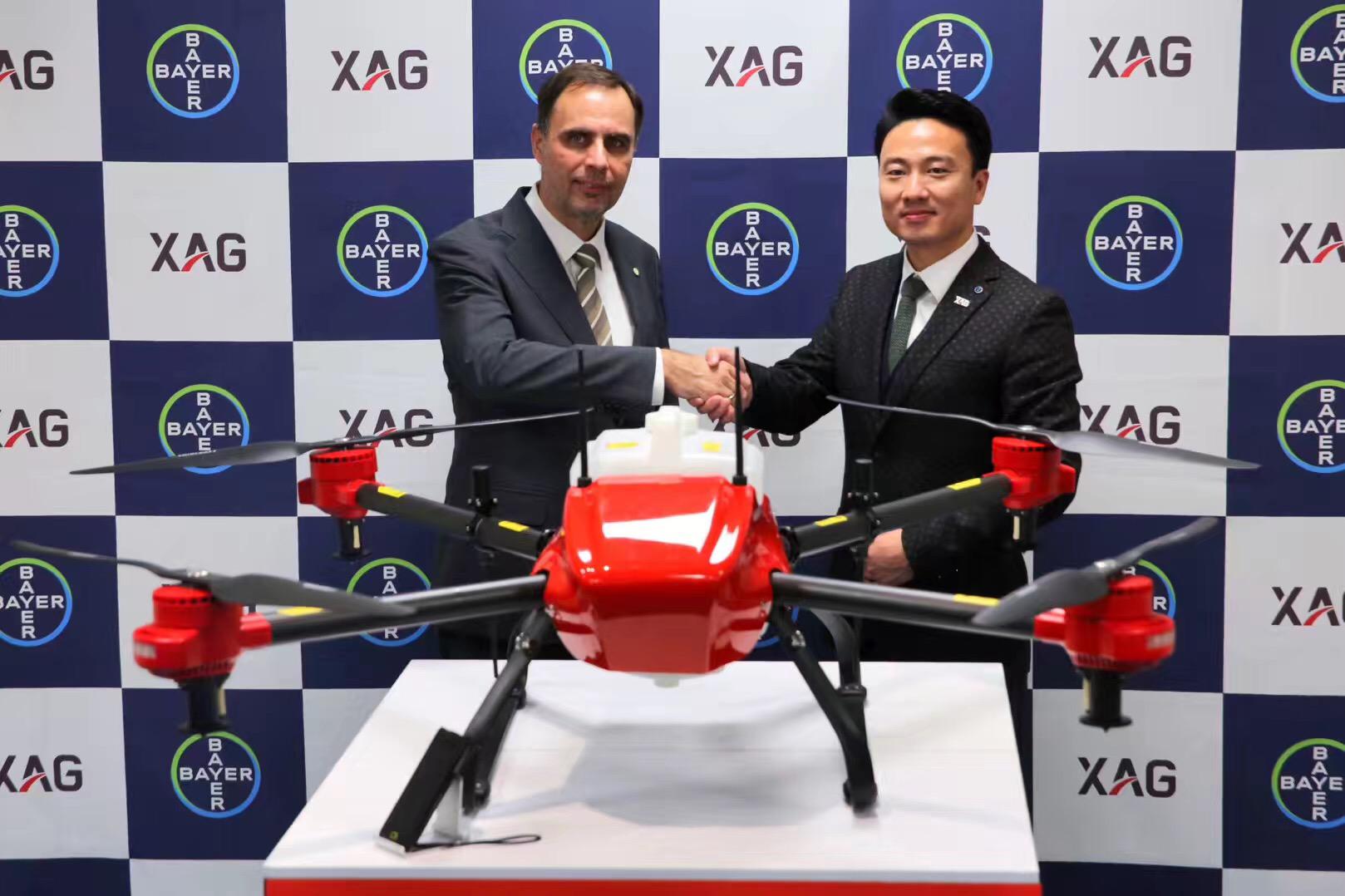 欲抢占日本农业无人机市场 极飞科技与拜耳战略合作
