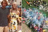澳大利亚情侣计划捡81万个塑料瓶 筹集婚礼钱
