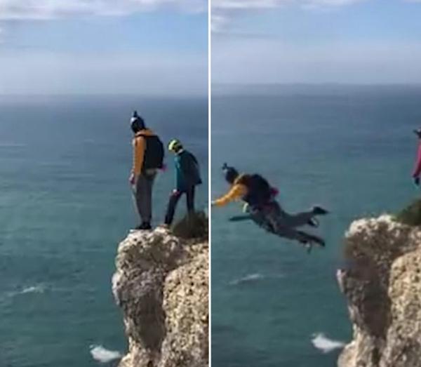 葡萄牙跳伞爱好者因降落伞未能打开从百米高空坠亡