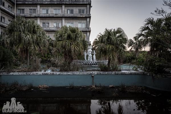 日本最大废弃酒店画风诡秘 废墟之下暗藏玄机