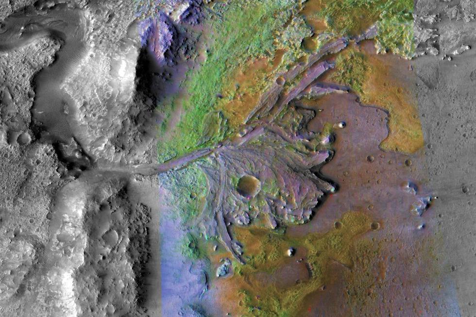 NASA确定2020火星探测任务登陆点 寻找生命证据