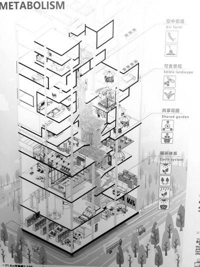 江北新区打造全省首个木结构零碳建筑