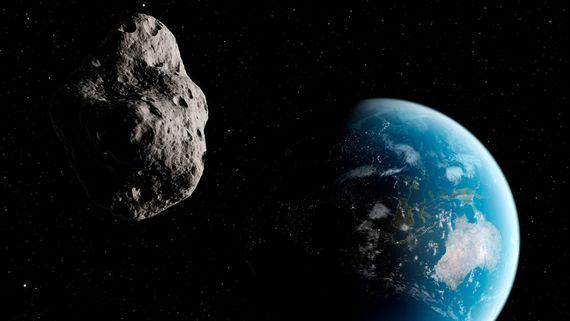 NASA:一周内有大批小行星近距离掠过地球