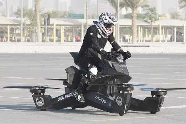 迪拜警察竟然打算标配飞行摩托?
