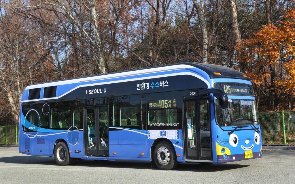 现代拟2019年向韩国6市投放30辆氢动力巴士