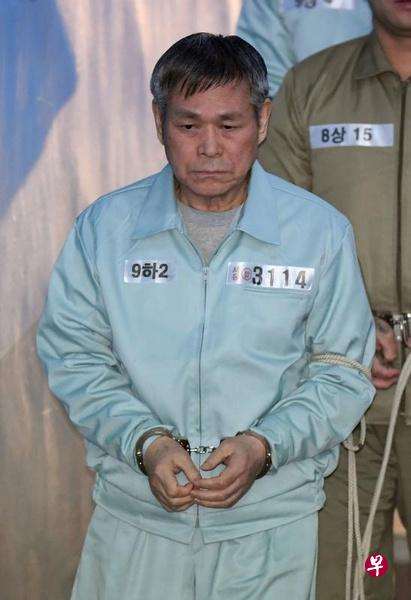 拥约13万信徒韩国著名牧师涉嫌强奸8名女信徒 判囚15年