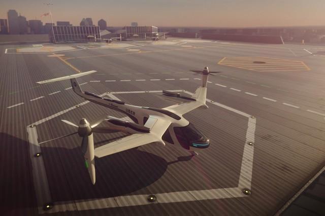 Uber计划2023年在悉尼实验飞行汽车