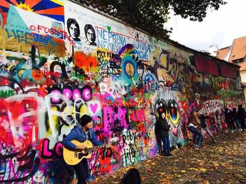 【布达佩斯印象】涂鸦墙里说文化