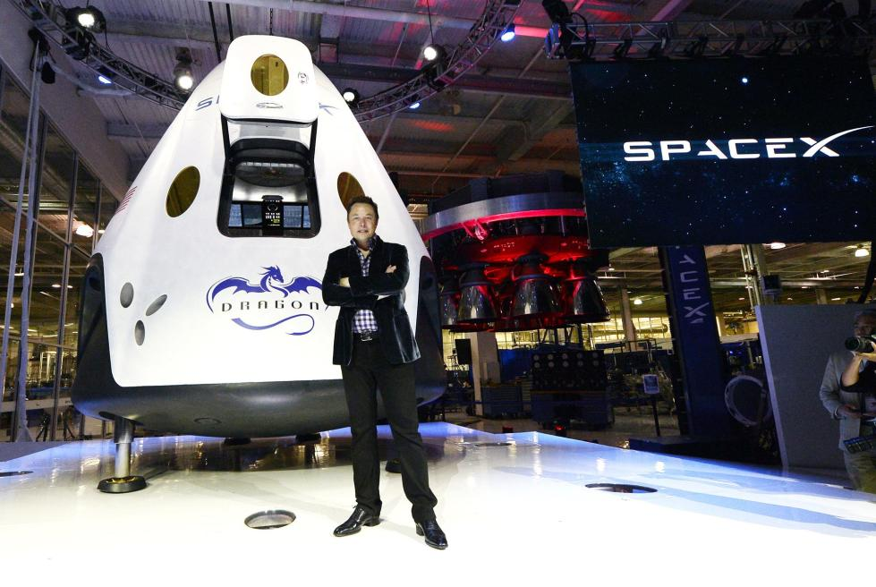 SpaceX载人宇宙飞船将于明年1月进行首次试飞
