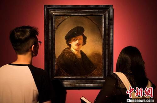 暗藏伦勃朗指纹画作将在伦敦拍卖 600万英镑起拍