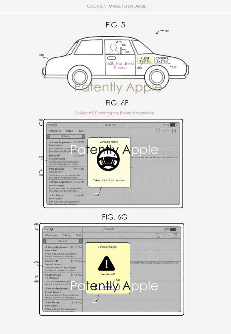 苹果感恩节发布自动驾驶新专利:新型车辆警报系统