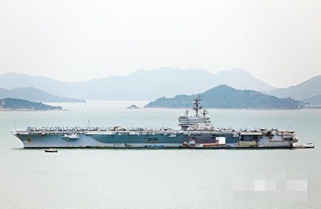 港媒:里根号航母访港后,香港多地汽车防盗系统失灵