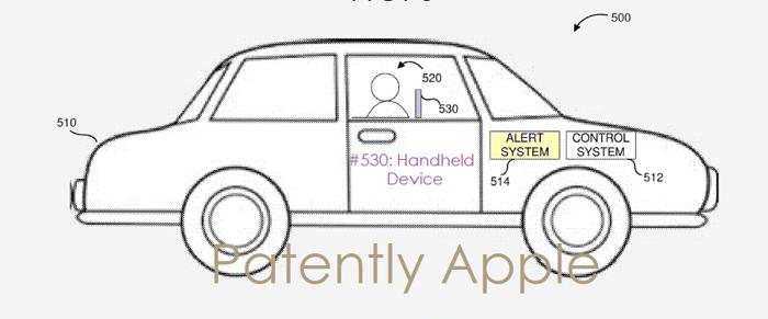 苹果自动驾驶汽车新专利:苹果设备连接汽车发送警报