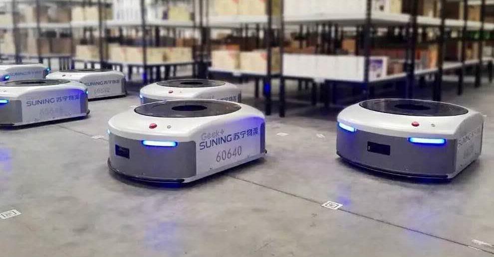 物流机器人公司Geek+获1.5亿美元B轮融资