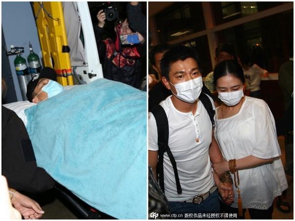 刘德华谈坠马事件花8月复健:让护士拿尿壶很尴尬