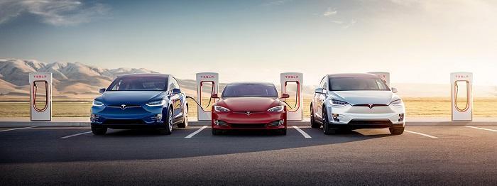 马斯克:特斯拉超级充电站数量将在2019年翻倍