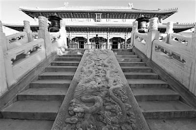 景山寿皇殿建筑群昨起试开放