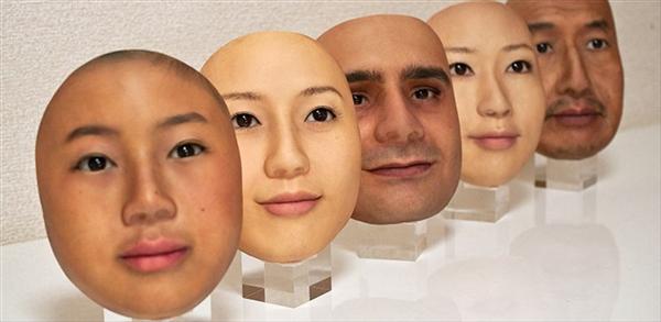 """日本推出高仿真""""人皮面具"""" 细节传神细思恐极"""