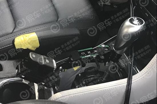 换装电子手刹 自动驻车 瑞风r3改款谍照曝光
