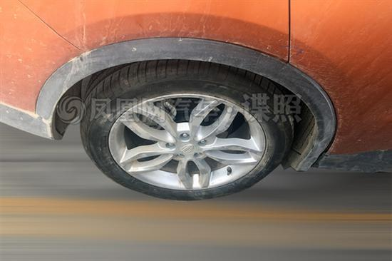 北汽比速T6谍照曝光 轿跑SUV/搭2.0T+8AT