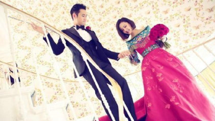 女明星结婚礼服,安以轩似公主,刘诗诗端庄大气