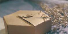 手工礼物盒, 再也不用花钱买包装了
