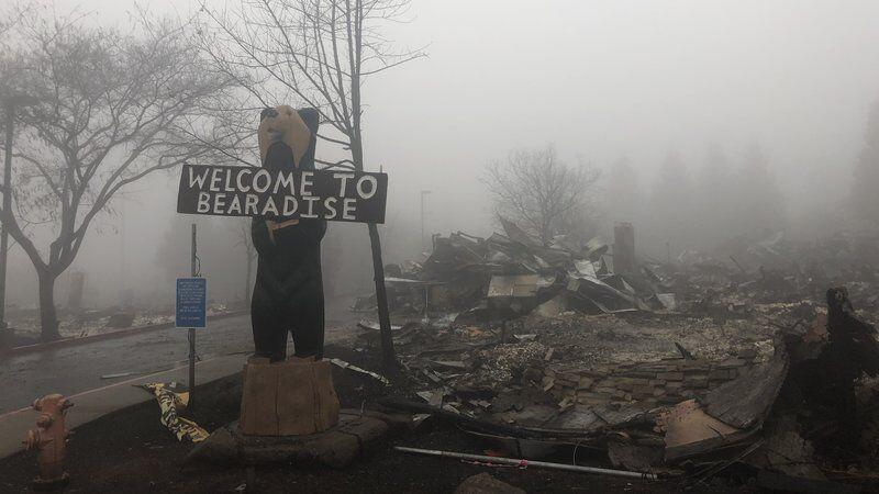 烧了15天后,在雨水帮助下加州山火几近扑灭 但产生了新的恐惧
