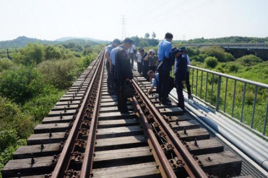 为朝韩合作开绿灯 安理会给予朝韩铁路共同考察制裁豁免图片 38943 544x362