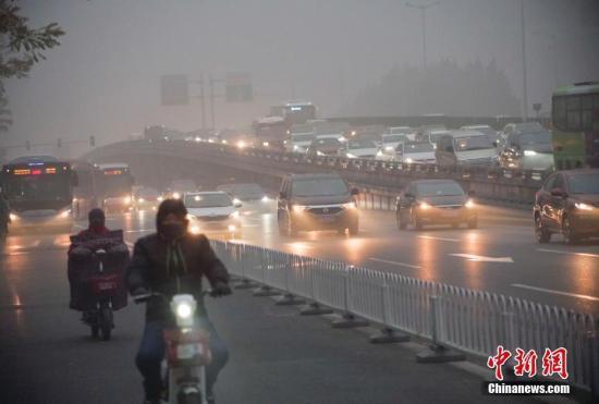 京津冀及周边地区有霾天气 部分地区重度霾