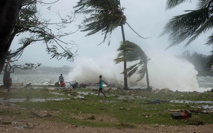 全球变暖 太平洋岛国要索赔