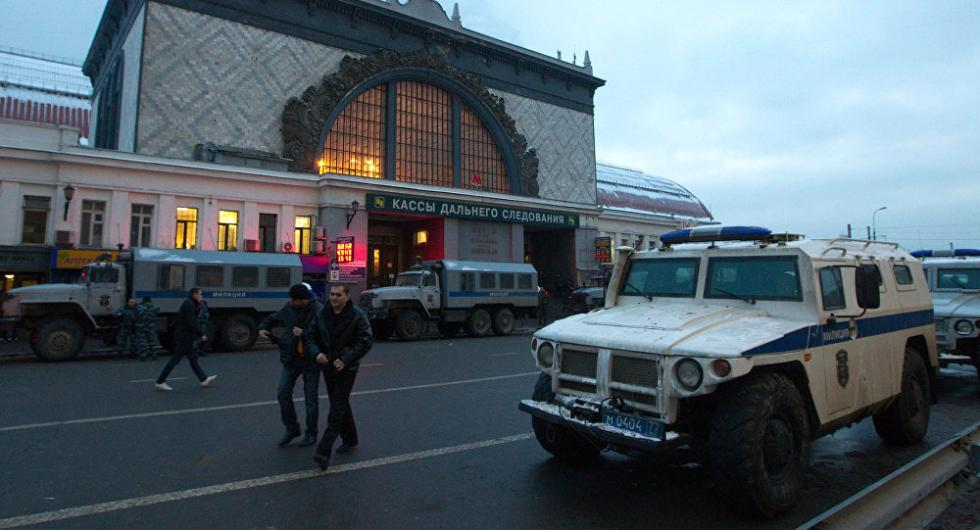 莫斯科一火车站疑现炸弹 警方前往现场紧急处理
