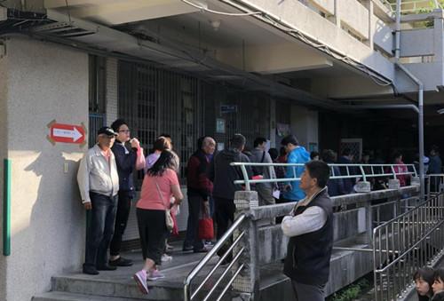 """台湾地区""""九合一""""选举开始投票 结果预计今夜出炉"""