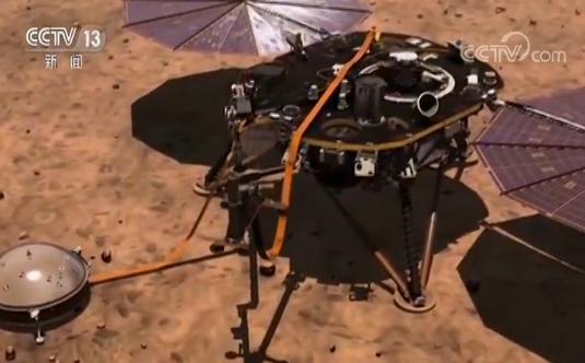 """探究火星内部奥秘 """"洞察""""号探测器将登陆火星"""