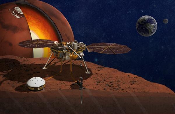 NASA洞察号即将着陆火星 你准备好火星留名了吗?
