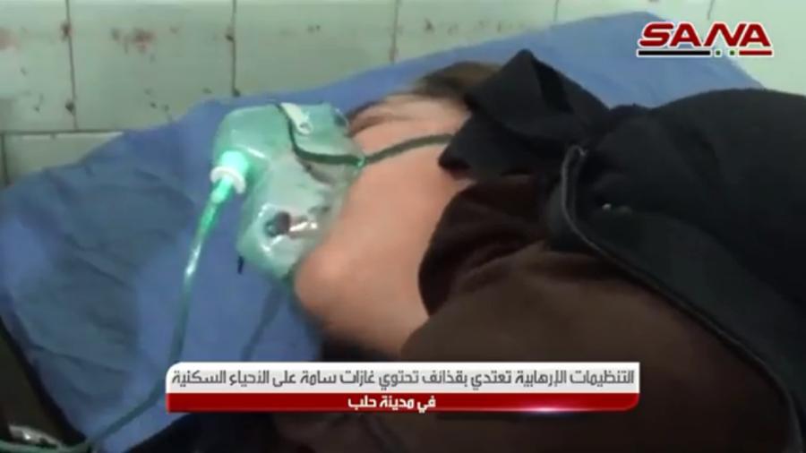 叙利亚阿勒颇遇袭上百人中毒 俄议员:美国应负责