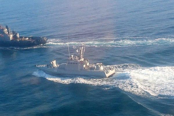 俄罗斯向乌克兰军舰开火 三艘乌船只被扣押