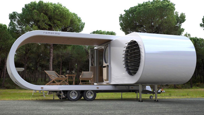 Romotow露营拖车再进公众视野 预计2020年面世