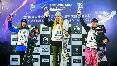 2018沸雪北京国际雪联单板滑雪大跳台世界杯鸟巢落幕