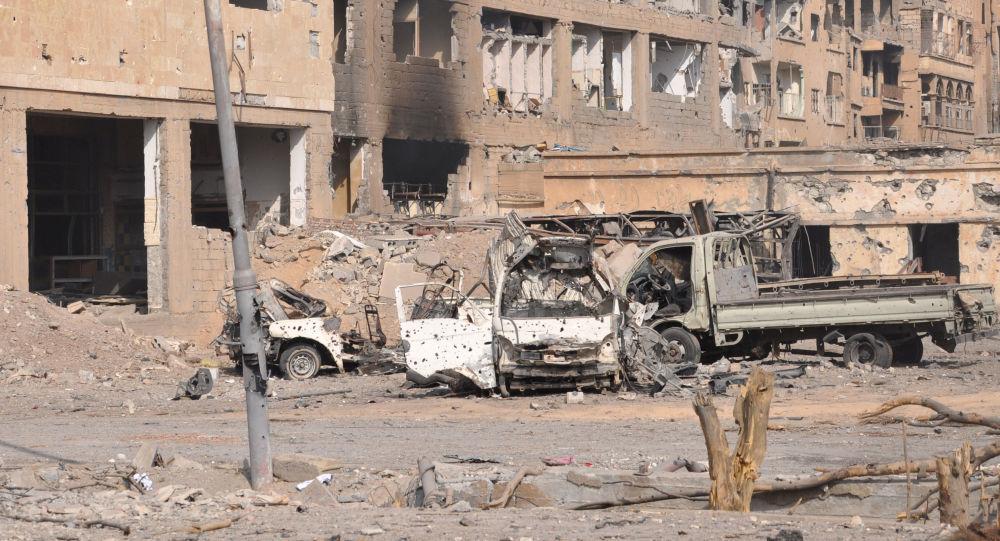 俄媒:国际联军对叙利亚空袭导致一家14口人丧生