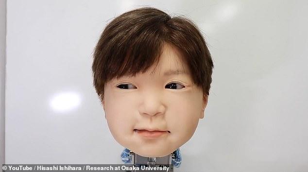 日本大学研发机器人拥有小孩脸庞 会皱眉和微笑