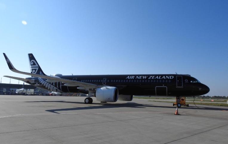 新西兰航空首架A321neo入列 将执飞短途国际航线